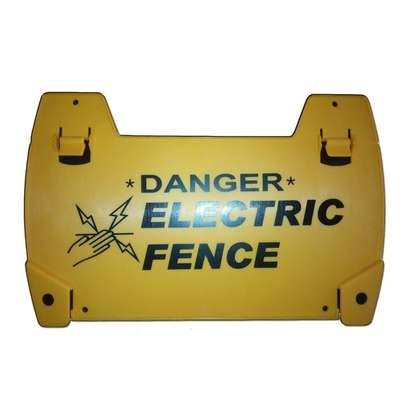 Electric Fence Warning Signs image 1