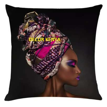 African print pillows and cases image 5