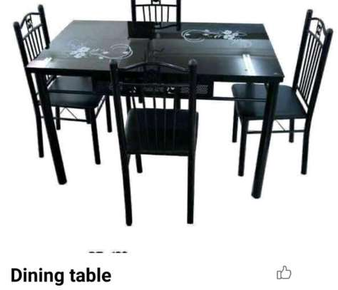 . Dinning table 4 seater image 1