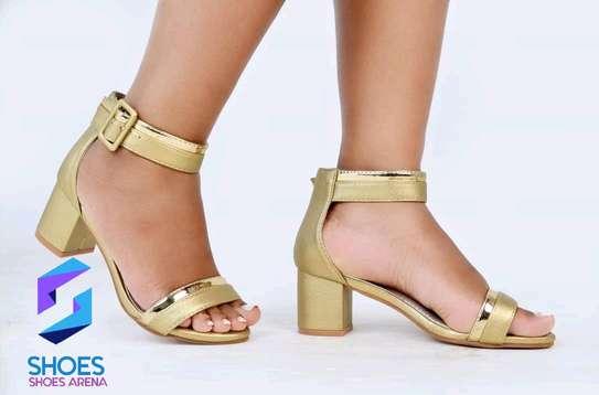 Quality Chunky Heels image 11
