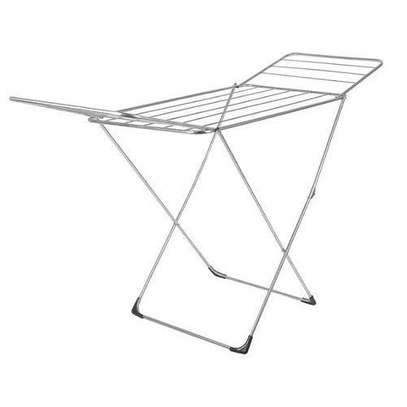 Foldable outdoor cloth rack image 3