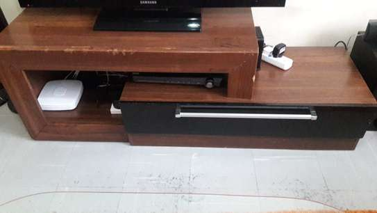 TV Stand with Storage Drawers