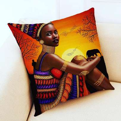 AFRICAN THEME PILLOWS image 1