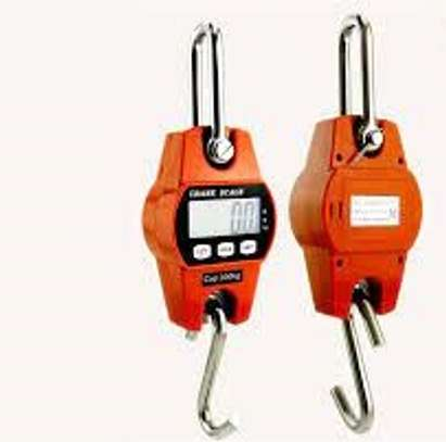 Mini Portable Crane Scale 300kg 0.1kg LCD Digital Electronic Hook Hanging Scale image 1