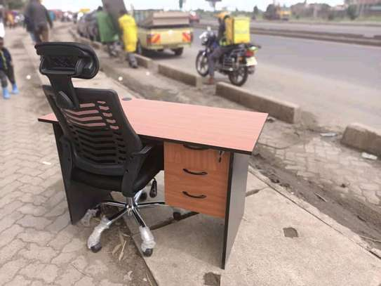 1.2m desk and headrest image 1