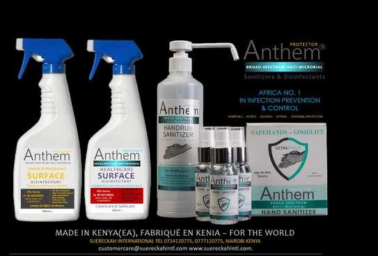 ANTHEM Broad spectrum Anti-Microbial Handrub Sanitizer. image 8