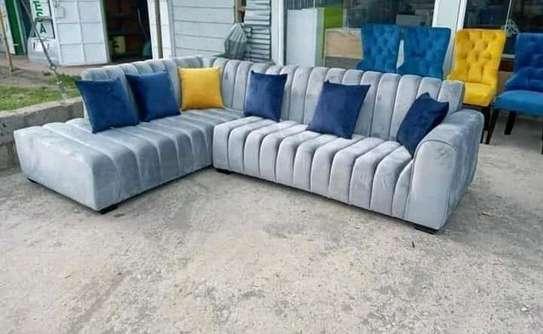 Stylish L shape sofas image 1