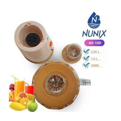 Nunix 1.5 Litres 2in1 Blender AK-100 Home Use image 1