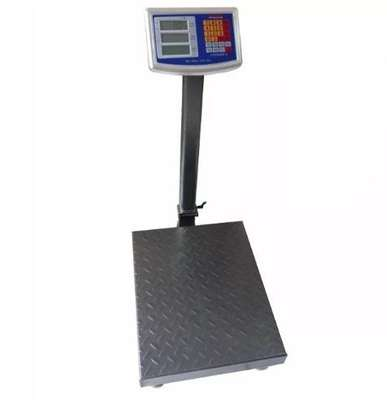 TCS series industrial scale, stainless steel platform with indicator image 1