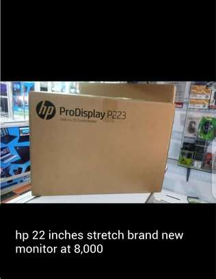 hp 22 inches stretch brand new monitor image 1