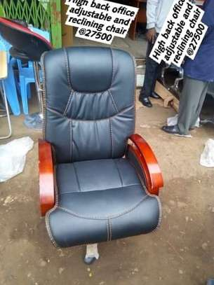 High Back adjustable and reclining Office Chair image 1