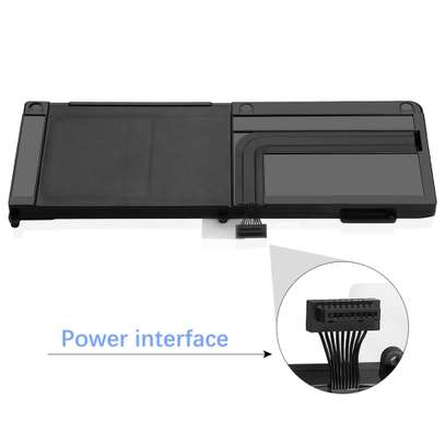 """A1321 10.98V 73Wh Laptop Battery for Apple MacBook Pro Unibody 15"""" A1286 2010 image 2"""