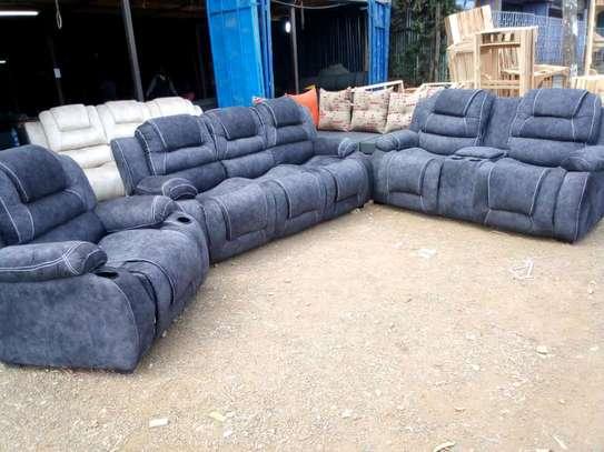 A 3 2 1 recliner sofa image 1