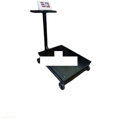 150kg Digital Electronic Platform Scale Metal Base A12 image 1