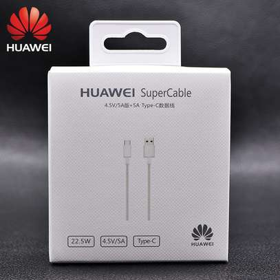 Original Huawei Supercharge USB 3.1 Type C Cable 5A Super Charging Data Cord image 2