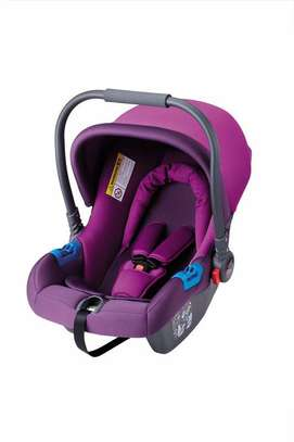 Infant Baby Car Seat/ Carry Cot - Purple