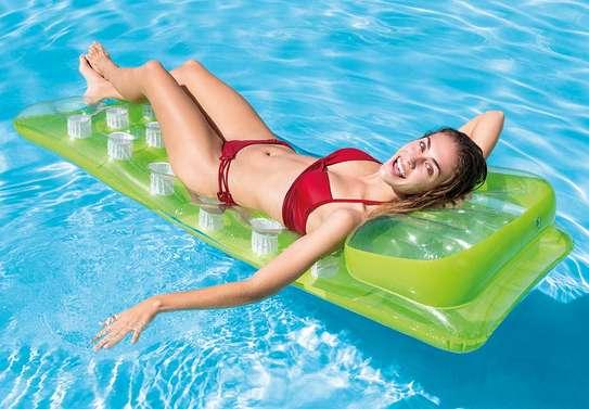 18-pocket Fashion Mats Swimming Floater image 2