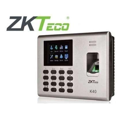 Zk40 Biometric Time Attendance image 1