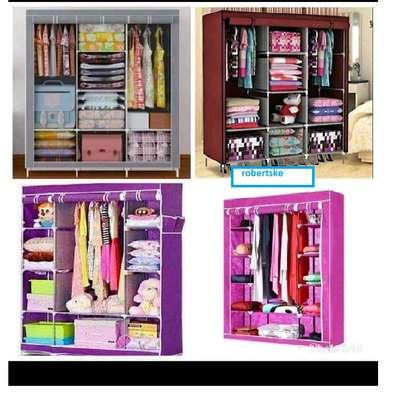Wooden Wardrobe Organiser image 1