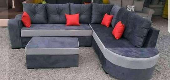 Sofa set made by hand wood and good quality material image 3