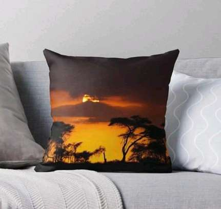African throw pillows image 1