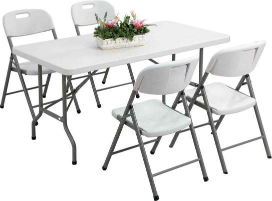 HEAVY DUTY FOLDABLE PLASTIC TABLES image 2
