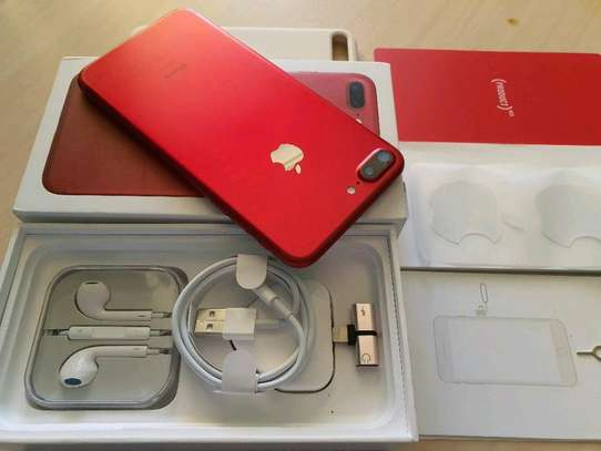 Apple Iphone 7 Plus 256Gb Product Red And Iwatch Nike Edition image 1