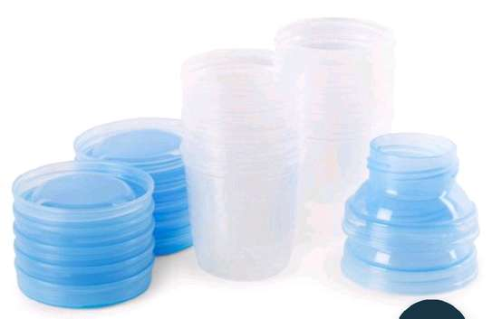 6PC Breast Milk Storage Container