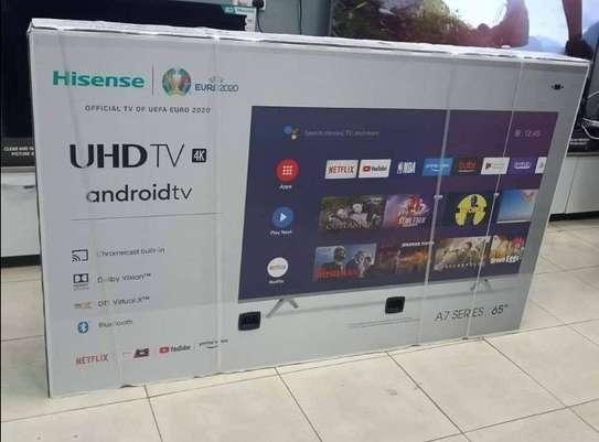 65 Hisense Android Frameless LED TV - April Mega Sale image 1