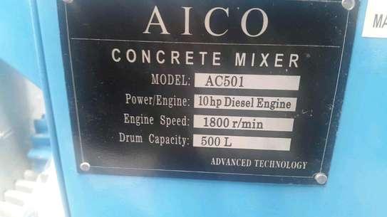 Aico concrete mixer machine 400l image 3