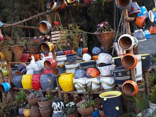 Flower pots image 1