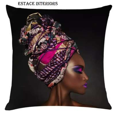 AFRICAN PRINT PILLOW CASES image 5