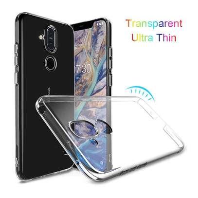 Clear TPU Soft Transparent case for Nokia 8.1 image 7
