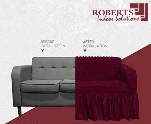 Stretch Spandex Sofa Cover image 5