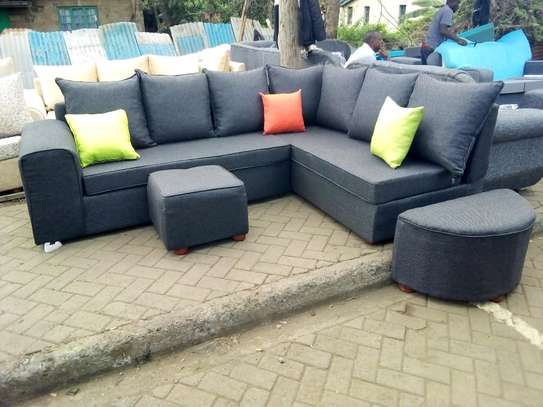 Ready made L-shape 6seater image 1