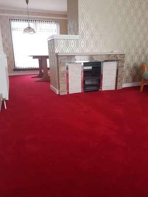 Machine made high quality red carpets image 5