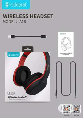 Powerful Bass Bluetooth Headphone image 2