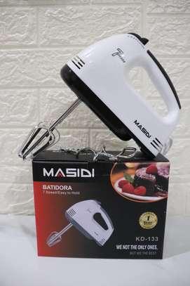 7 Speeds Electric Hand Mixer, Dough Mixer normal 5 0 Customer reviews image 1