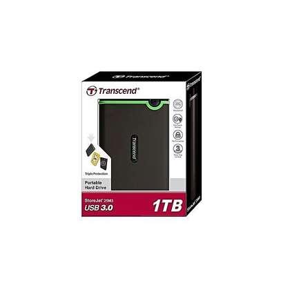 Transcend 1TB External Hard Disk 3.0 image 1