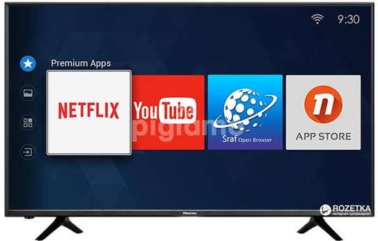 50 Hisense 4k uhd tv vidaa smart os frameless Bluetooth image 1