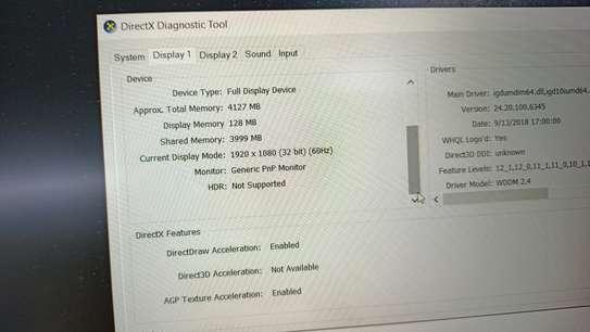 Hp Omen 15 intel Core i7 8th generation 12 cpus 8gb ram 1tb hdd 4gb Nvidia geforce gtx 1030 dedicated graphics image 1