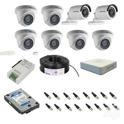 8 cameras CCTV  complete set image 1