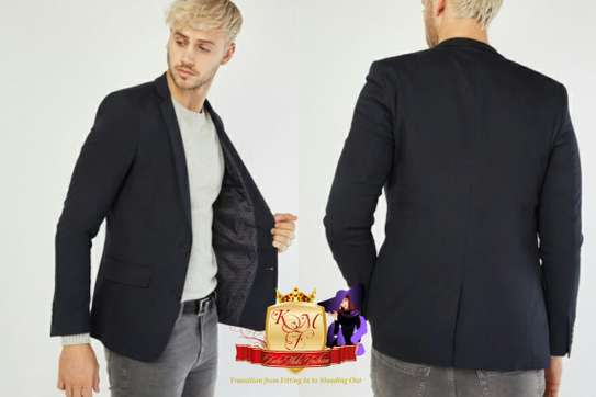 Men's Lapel Front Fitted Blazer