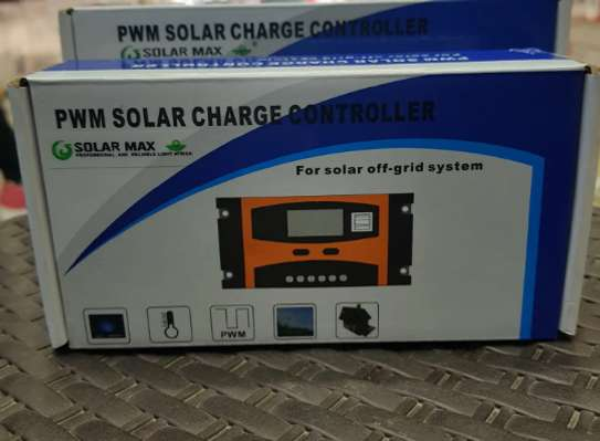 Solar Max Solar Charge Controller-12v/24v 10A PWM image 1