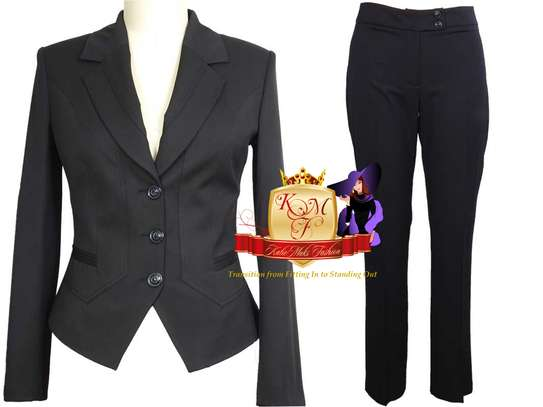Ladies Tailored Trouser Suits From UK