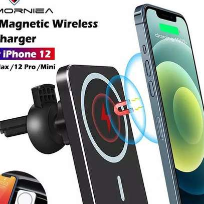 15W Magsafe Wireless Car Charger image 5