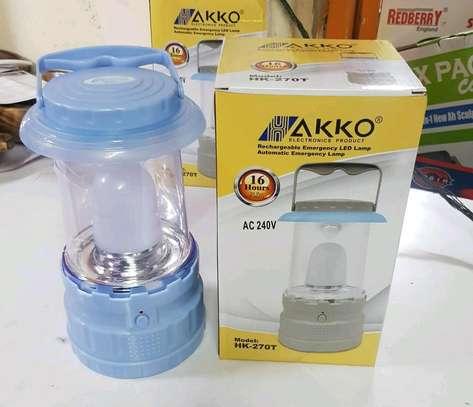 AKKO Rechargeable emergency led lamp image 1
