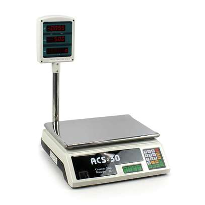 2020 Digital Weighing Scale Electronic Balance Fruit Scale Tabletop Smart Products scale image 1