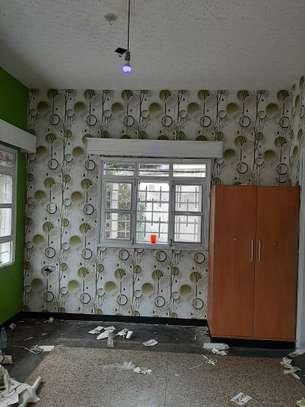 rustic effect self-adhesive wall paper image 3