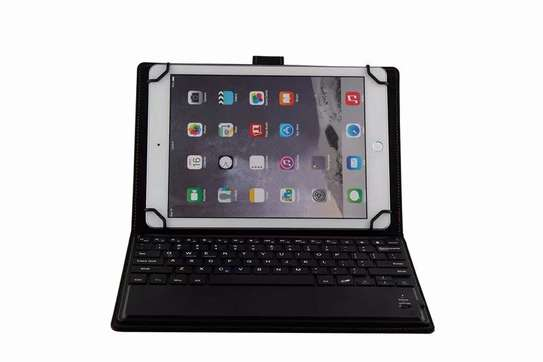 Leather Flip Stand Case With Micro USB Keyboard For Samsung Galaxy Tab A 10.1 2016 T580 T585 image 5